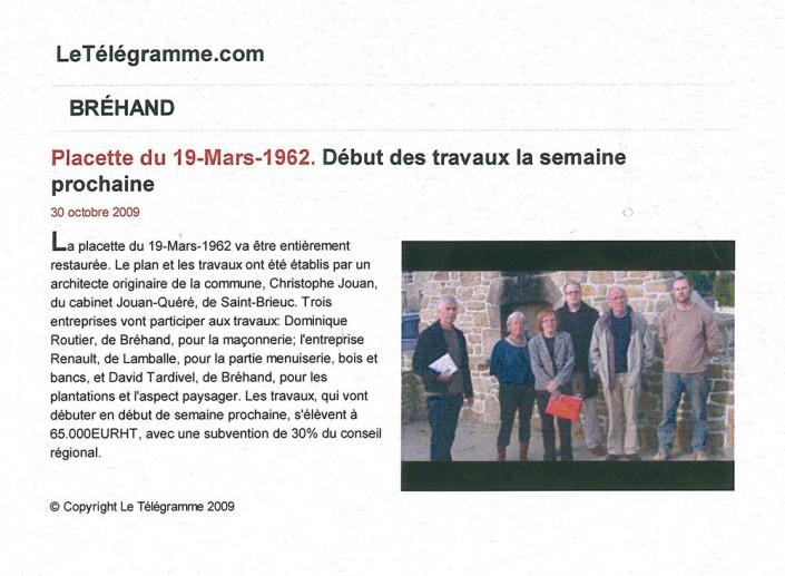 Bréhan, Menuiserie Renault, article, presse