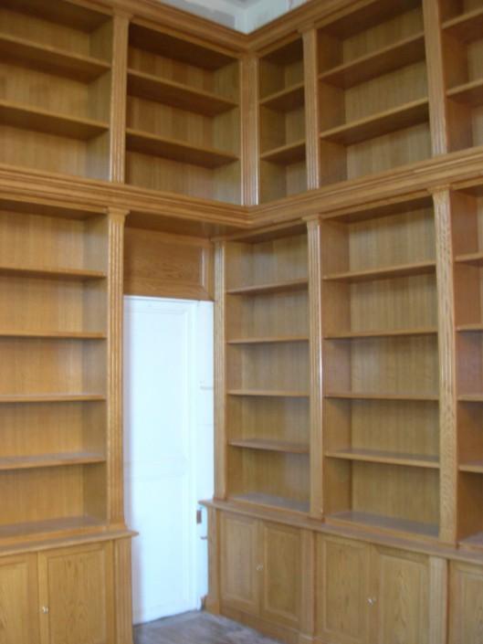 agencement bibliothèque