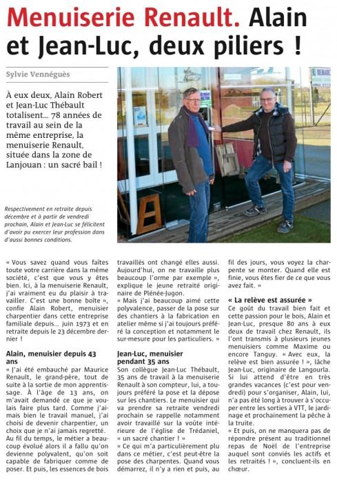 Alain Robert et Jean-Luc Thébault